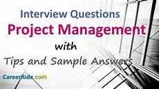 It Project Manager Interview Questions Project Manager Interview Questions And Answers