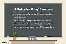Rules For Comma Usage Top 4 Rules For Using Commas Effectively