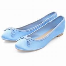 Light Blue Satin Flats Light Blue Satin Ballet Pumps 4 56 Liked On Polyvore