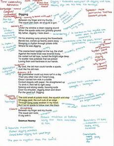 C Chart Text Annotation Example Annotating And Explicating Poetry Notes From The Field