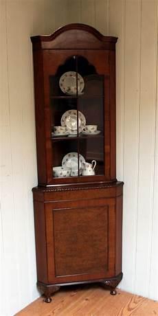 1930s walnut arch top corner cabinet antiques atlas