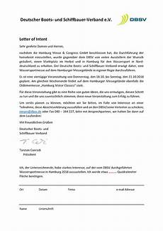 What Is Letter Of Intent Letter Of Intent Dbsv