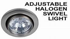 Halogen Light Fixture Not Working Recessed Halogen 12v Light With Swivel Cabinet Lighting