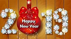 New Year Card Photo Happy New Year 2019 Greeting Card For Whatsapp Youtube