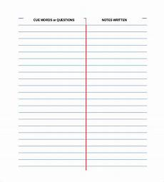 Free Notes Template Free Cornell Note Template 5 Free Word Excel Pdf
