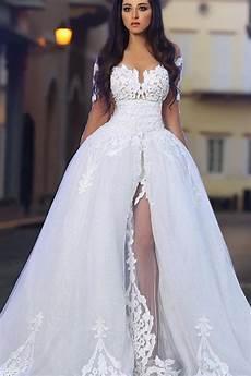 white a line 2018 dress appliques tulle