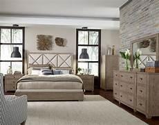 Oak Bedroom Furniture Sets Bridgewater Weathered Oak Upholstered Bedroom Set From
