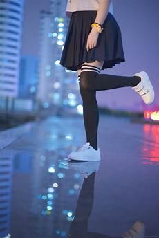 gadis kaus kaki gambar bokeh gadis malam basah imut gelap asia