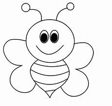 bee coloring pages for preschool and kindergarten