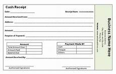 Receipt For Money Paid The Proper Receipt Format For Payment Received And General