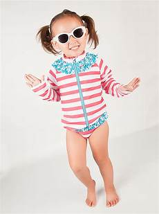 toddler sleeve swimsuit stylish upf 50 rash guard swimsuits and swimwear by