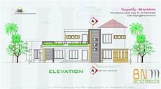 Floor Plan And Elevation Floor Plan 3d Views And Interiors Of 4 Bedroom Villa