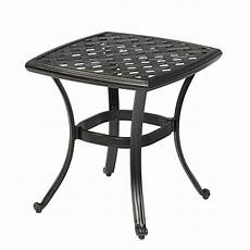 outdoor patio and furniture small metal side table marble
