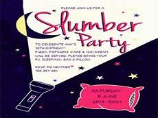 Free Printable Slumber Party Invitations 16 Slumber Party Invitation Designs Amp Templates Psd Ai