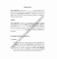 Sample Investor Agreement Free 19 Investment Agreement Templates In Pdf Google