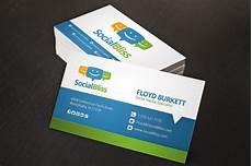 Social Media Business Card Social Media Business Card Business Card Templates