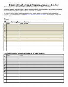 Attendance Tracking Program 11 Attendance Tracker Templates In Pdf Xls Free
