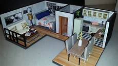 diy miniature dollhouse apartment