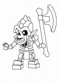 Lego Ninjago Skelett Ausmalbilder Print Coloring Image Momjunction Malvorlagen