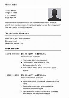 Resume Basics Resume Templates