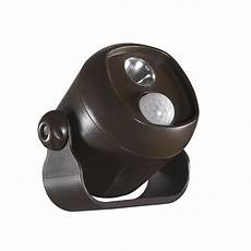 Battery Operated Security Lights Home Depot Battery Operated Motion Activated Led Mini Spotlight