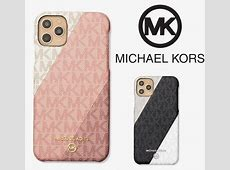 Shop Michael Kors 2020 SS Leather iPhone X iPhone 11 Pro