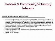 Cv Interests Section How To Depicting Hobbies And Interests On Your Cv Youtube