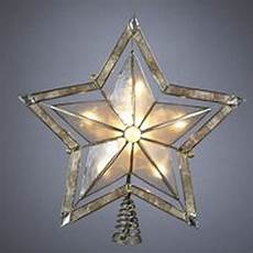 Large Light Up Star Tree Topper 10 Quot Lighted Smoky Capiz Shell Star Christmas Tree Topper