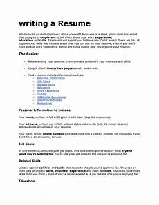 What To Write Under Skills On A Resume Quotes To Put On Resume Quotesgram