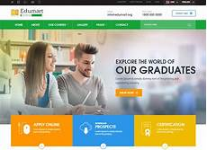 Online Education Templates Free Download 35 Amazing Education Website Template Options For