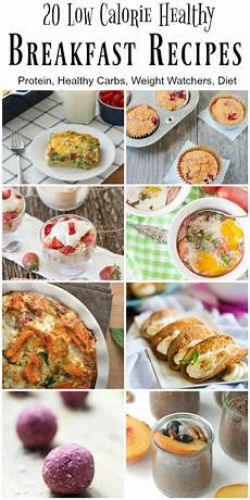 20 low calorie and healthy breakfast recipes healthy low