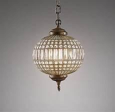 Restoration Hardware Baby And Child Lighting Casablanca Crystal Pendant Small Ceiling Restoration