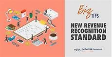 New Revenue Recognition Standard Biz Tips Sva Certified Public Accountants