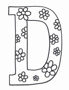 letter d coloring pages to and print for free