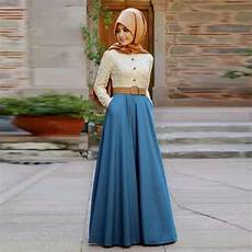 maxi muslim dress according to the fashion trends