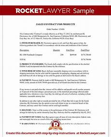 Sale Contract Samples Sales Contract Template Free Sales Contract Form With