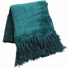 spruce chenille throw chenille throw teal throw blanket