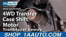 2000 Chevy Blazer 4 Wheel Drive Light Flashes How To Install Repair Replace 4wd Transfer Case Shift