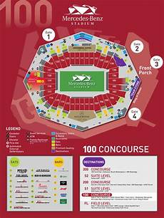 Seating Chart Mercedes Benz Atlanta United Stadium Maps Mercedes Benz Stadium