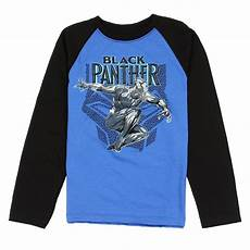 black panther clothes malone marvel comics the black panther blue sleeve boys shirt