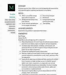 Management Objectives For Resume Case Manager Objectives Resume Objective Livecareer