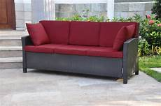 international caravan valencia 3 seat wicker outdoor sofa