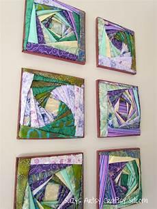 how to make beautiful fabric wall