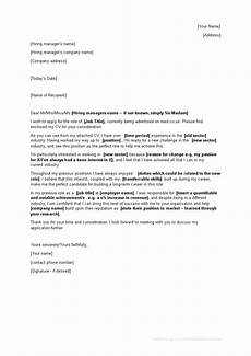 Career Cover Letters Mid Career Change Cover Letter Templates At
