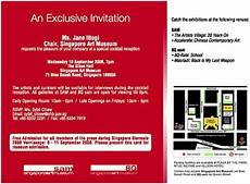 contoh undangan formal dalam bahasa inggris