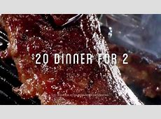 Chili's $20 Dinner for Two TV Spot, 'Más opciones