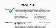 How To Write A Job Summary For A Resume Top Resume Writing Tips To Get An Interview Call