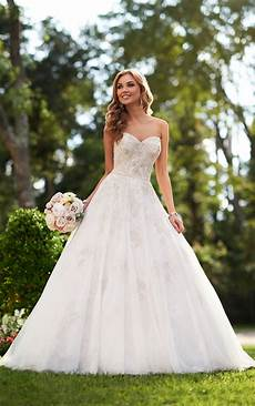 silver lace wedding dress stella york wedding dresses