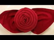 Rose Folding Napkin Folding The Rose Easy Napkin Folding Tutorial