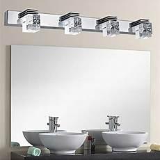White Bathroom Vanity Light Fixtures Letsun Modern 12w Cool White 650lm 4 Light Led Bathroom